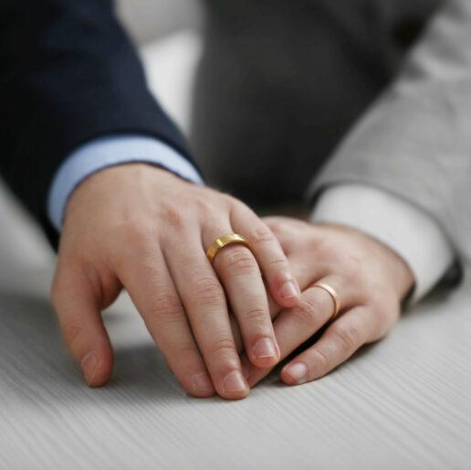 Eheringe für gleichgeschlechtliche Paare